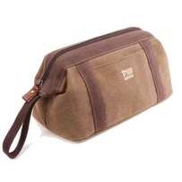 Troop Classic Wash Bag Brown