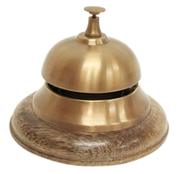 French Country Charles Office Bell 12.5cmDiax10cmH