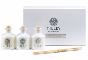 Tilley Peony/Lavender/Vanilla Bean Mini Reed Set - 3 x 35ml