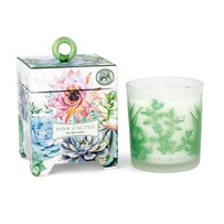 Michel Pink Cactus Candle 184g