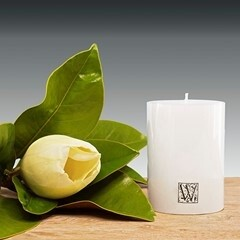 Waxglo Cylinder Candle - White 70x100mm