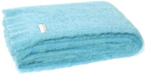 Windermere Mohair Knee Rug Sea Spray