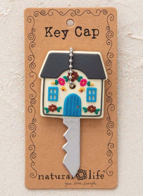 Natural Life Cottage Be Happy Key Cap