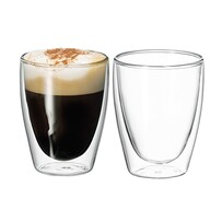 Avanti Caffe Twin Wall Glass 2 pce - 250ml