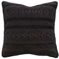 Furtex Ghana Cushion Black 50x50cm