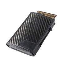 Tony Perotti Carbon Fibre Smart Wallet Black