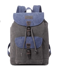 Troop Stockholm Backpack Blue/Grey