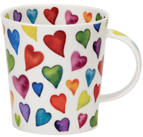 Dunoon Lomond Warm Hearts Mug