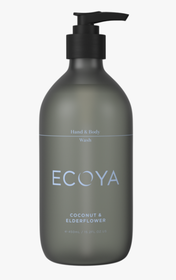Ecoya Coconut & Elderflower Hand & Body Wash - 450ml