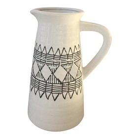 Oneworld Sahara Painted Ceramic Jug Large
