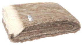 Windermere Alpaca Throw Natural Pumice