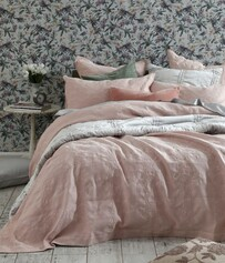 MM Linen Aviana Bedcover Set - Rose