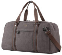 Troop Explorer Holdall Black w Khaki Trim