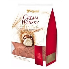 Vergani Milk Chocolate Whisky Creams - 200g