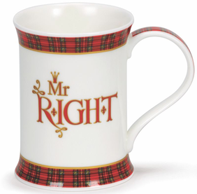 Dunoon Cotswold Mr Right Mug