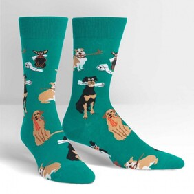 Sock it to Me Chew On This Mens Crew Socks