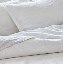 Baksana Linen Sheet Set Collection - White