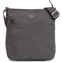 Troop Classic Zip Top Shoulder Bag Black