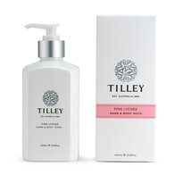 Tilley Pink Lychee Body Wash 400ml