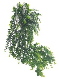 Flower Systems Eucalyptus Potted Hanging - Grey/Green 66cm