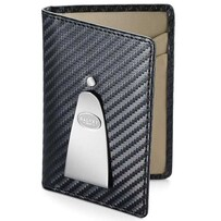 Dalvey Continental Carbon Fibre Wallet Black