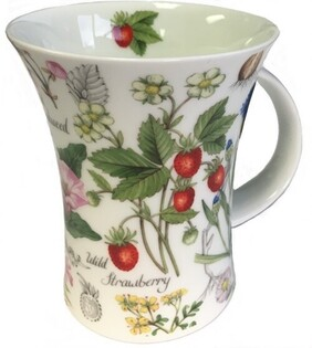 Dunoon Cotswold Floral Diary Strawberry Mug