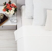 Seneca Pure Egyptn Cotton Pillowcases - White Standard
