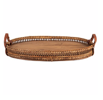 Kerridge Oval Rattan Tray