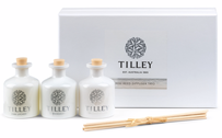 Tilley Lychee/Lemongrass/Coconut & Lime Mini Reed Set 3 x 35ml