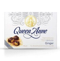 Queen Anne Ginger Dark Chocolates 110g