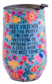 Natural Life Best Friends Wine Tumbler 395ml