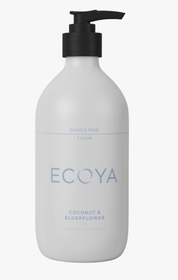 Ecoya Coconut & Elderflower Hand & Body Lotion 450ml