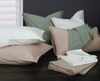 MM Linen Lacey Sheet Set - Ivory