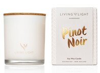 Living Light Pinot Noir Soy Candle 65hrs