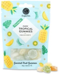 Sugar Sin Tropical Gummies - 80g
