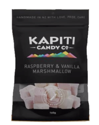 Kapiti Candies Raspberry & Vanilla Marshmallow - 160g
