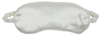 Simply Essential Satin Eye Mask - Ivory
