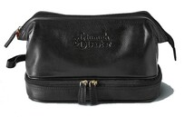 Triumph & Disaster Frank the Dopp Toilet Bag - Black
