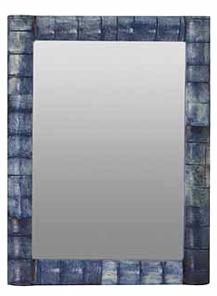 Madras Bronte Photo Frame - Washed Blue 100x150mm