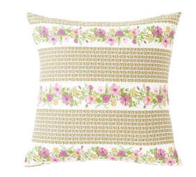 Lazybones Petunia Square Cushion