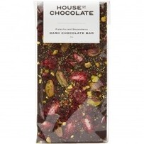 House of Chocolate Pistach Boysenbry Chocolate Bar - Dark