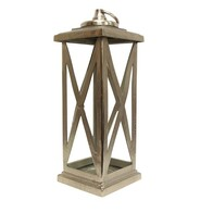 French Country Oxford Lantern Large 25cmLx25cmWx69cmH