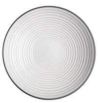 Denby Studio Grey Ridged Bowl - Mixed 31cm