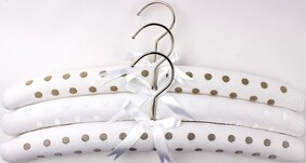 Alice & Lily Embroidered Newspot Hangers - S/3
