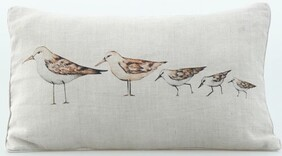 MM Linen Gull Cushion - 50x30cm