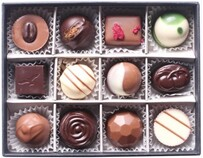Bennetts of Mangawhai Mixed Selection of Chocolates 12's - 175g