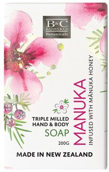 Banks & Co Manuka Soap - 200g