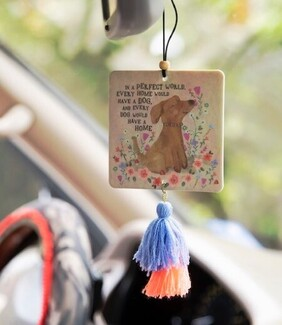 Natural Life Perfect World Dog Tassel Air Feshener