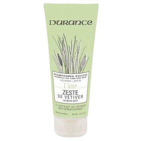 Durance Vetiver Zest Shower Gel - 250ml