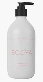 Ecoya Sweet Pea & Jasmine Hand & Body Lotion - 450ml